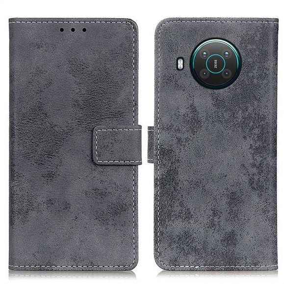 Housse Nokia X20 / X10 Cyrius simili cuir vintage
