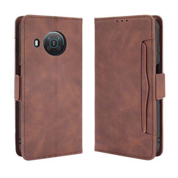 Housse Nokia X20 / X10 Premium avec Porte Cartes