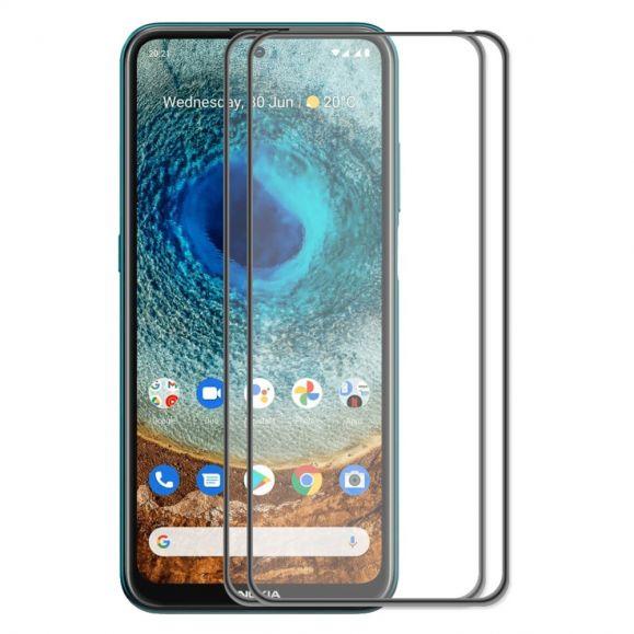 Protections d'écran Nokia X20 / X10 en verre trempé Full Size (2 pièces)