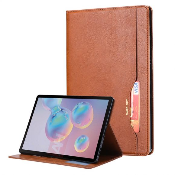 Housse Samsung Galaxy Tab S7 FE Simili Cuir Stand Case
