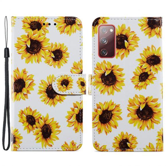 Housse Samsung Galaxy S20 FE Tournesol Fleur