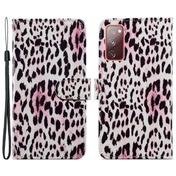 Housse Samsung Galaxy S20 FE Motif Leopard