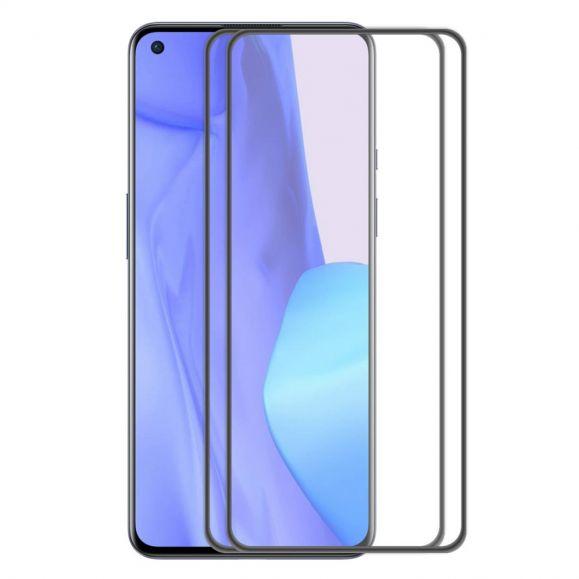 Protections d'écran OnePlus 9 en verre trempé Full Size (2 pièces)