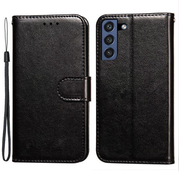 Housse Samsung Galaxy S21 FE Rabat Porte-Cartes