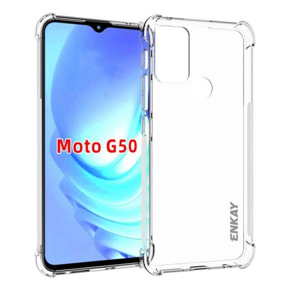 Protection Coque Motorola Moto G50 ENKAY Transparent