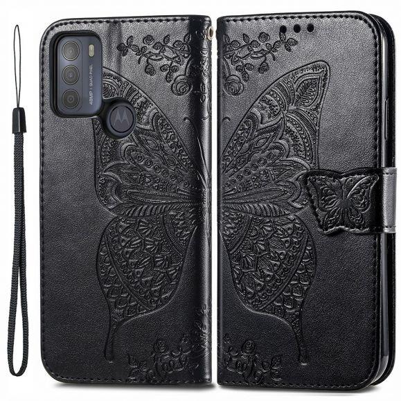 Housse Motorola Moto G50 Papillon Relief