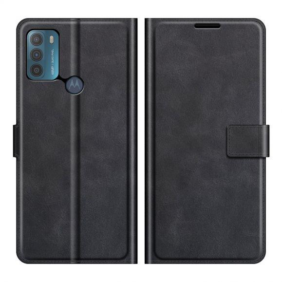 Housse Motorola Moto G50 portefeuille style cuir