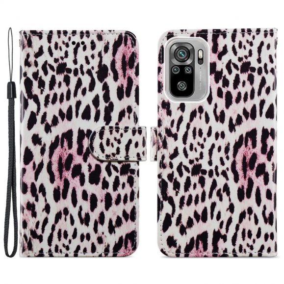 Housse Xiaomi Redmi Note 10 / Note 10s Motif Leopard