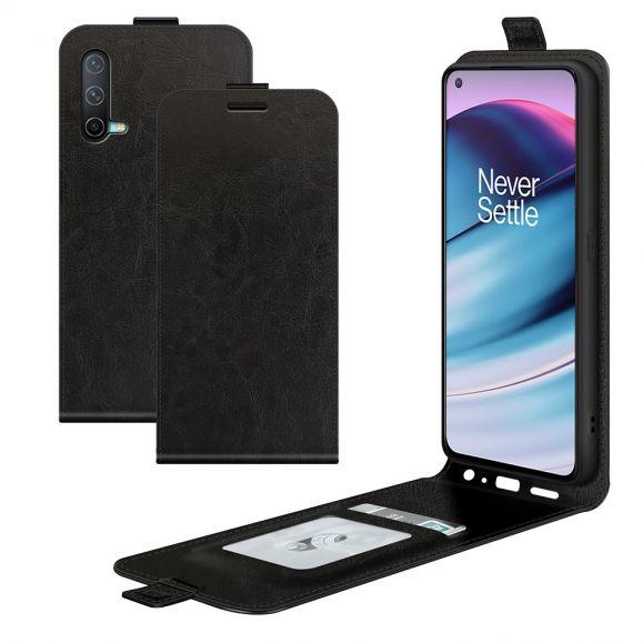 Housse OnePlus Nord CE 5G simili cuir avec rabat vertical