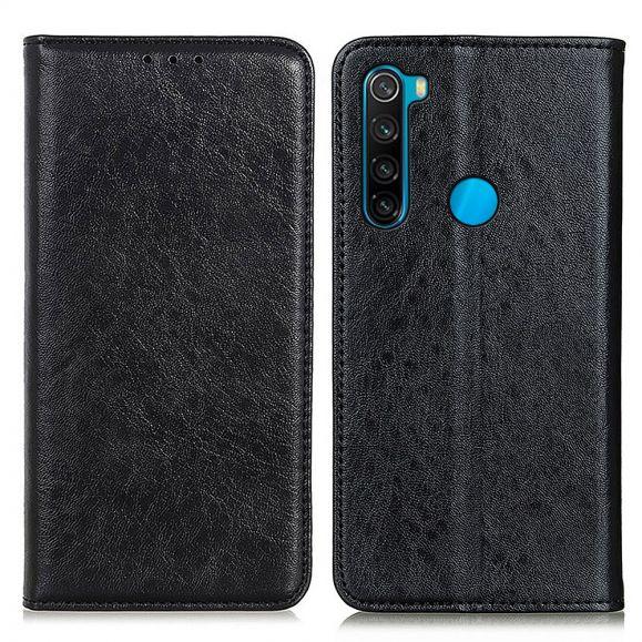 Housse flip cover Xiaomi Redmi Note 8 2021 Simone simili cuir