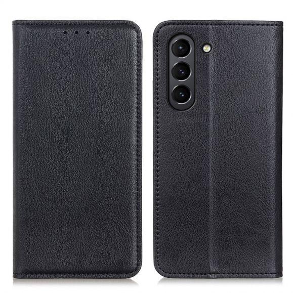 Housse flip cover Samsung Galaxy S21 FE simili cuir