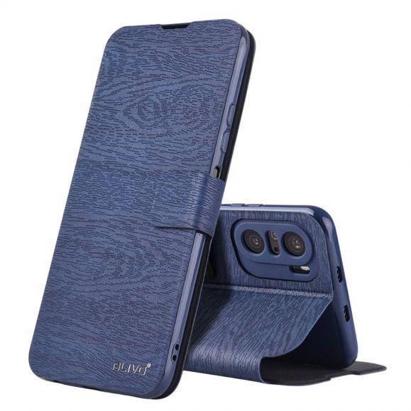 Housse Xiaomi Mi 11i 5G / Poco F3 ALIVO Simili Cuir Effet Écorce