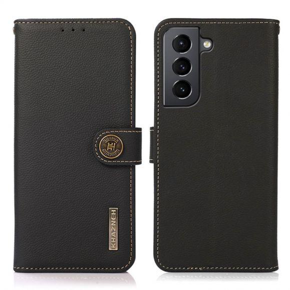 Housse Samsung Galaxy S21 Plus 5G KHAZNEH Classic en cuir