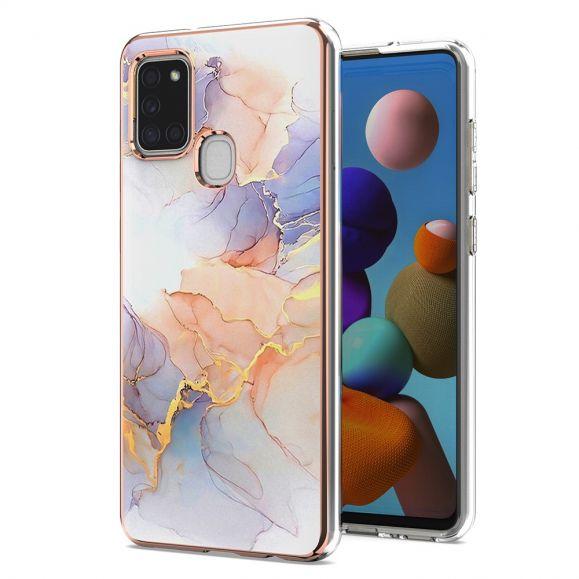 Coque Samsung Galaxy A21s marbre coloré