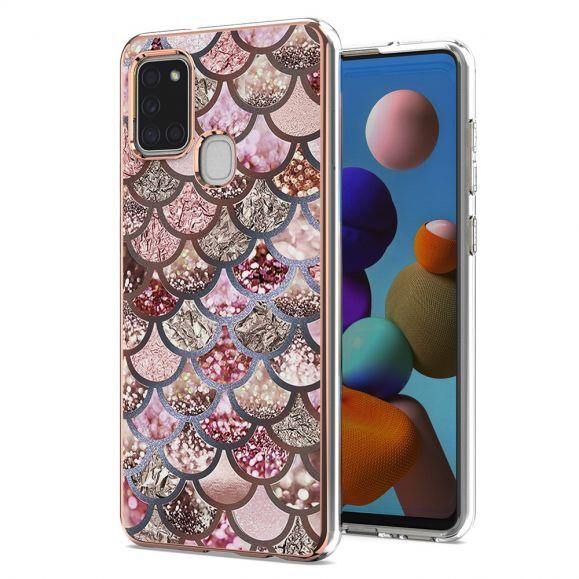 Coque Samsung Galaxy A21s motif écailles