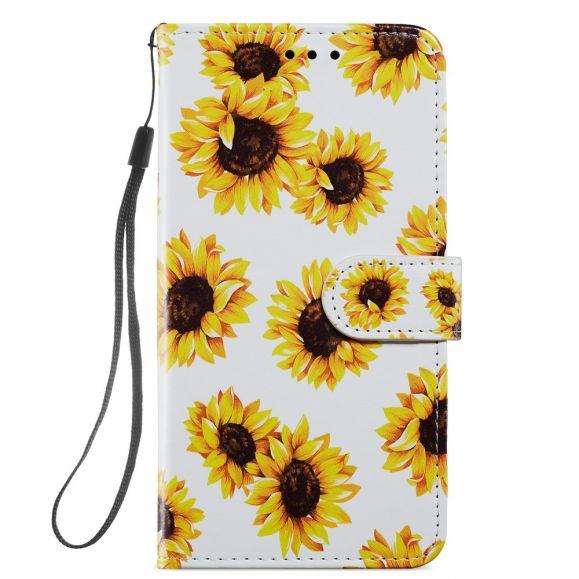 Housse iPhone 12 / 12 Pro Tournesol Fleur