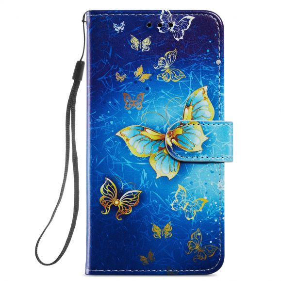 Housse iPhone 12 / 12 Pro Golden Butterfly
