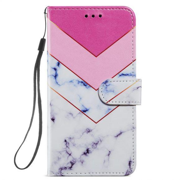 Housse iPhone 12 / 12 Pro Marbre Géométrie