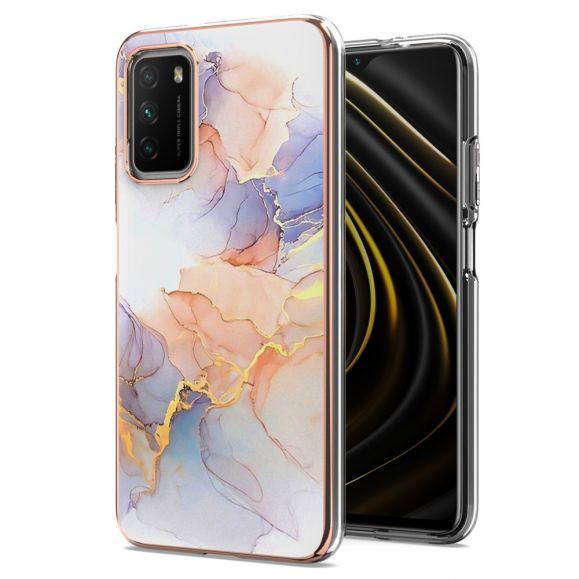 Coque Xiaomi Poco M3 marbre coloré