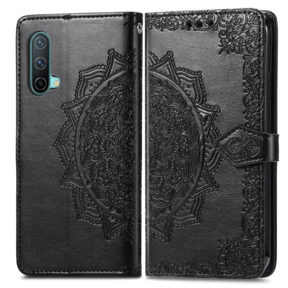 Housse OnePlus Nord CE 5G Mandala relief en simili cuir