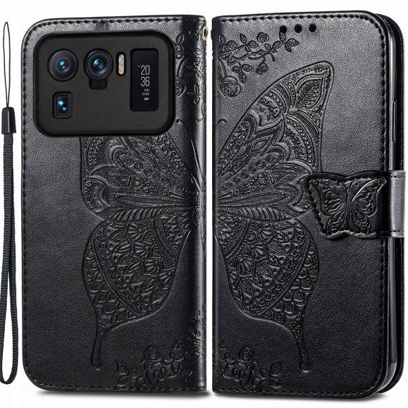 Housse Xiaomi Mi 11 Ultra Papillon Relief