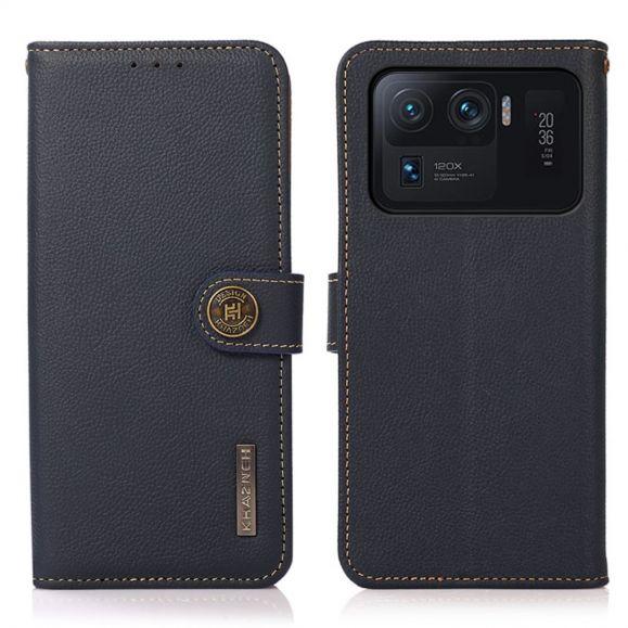 Housse Xiaomi Mi 11 Ultra KHAZNEH Classic en cuir