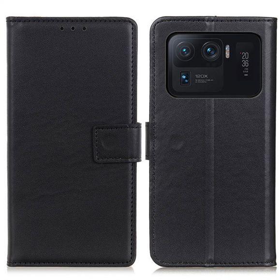 Housse Xiaomi Mi 11 Ultra simili cuir basique