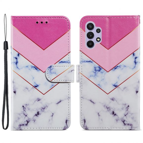 Housse Samsung Galaxy A32 5G Marbre Géométrie
