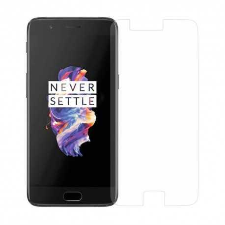 Protection d'écran en verre trempé pour OnePlus 5