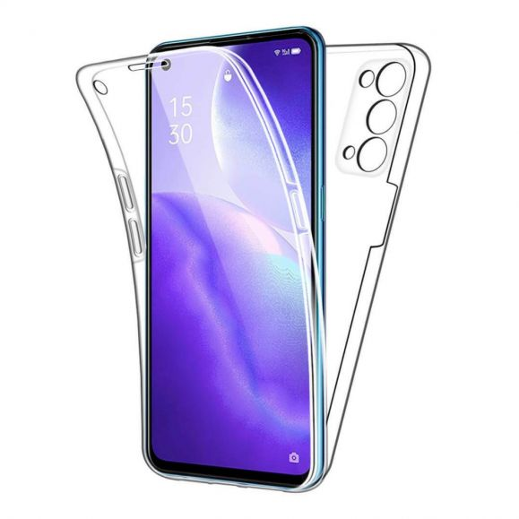 Coque Oppo Find X3 Lite Avant et Arrière Transparent