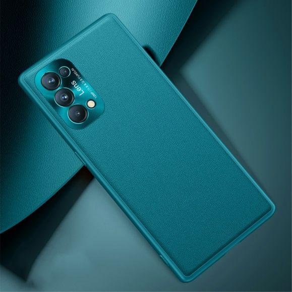 Coque Oppo Find X3 Lite Jacar Design Effet Cuir