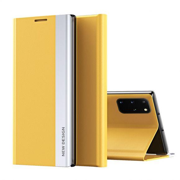Etui Samsung Galaxy S20 Plus Business effet cuir Magnet