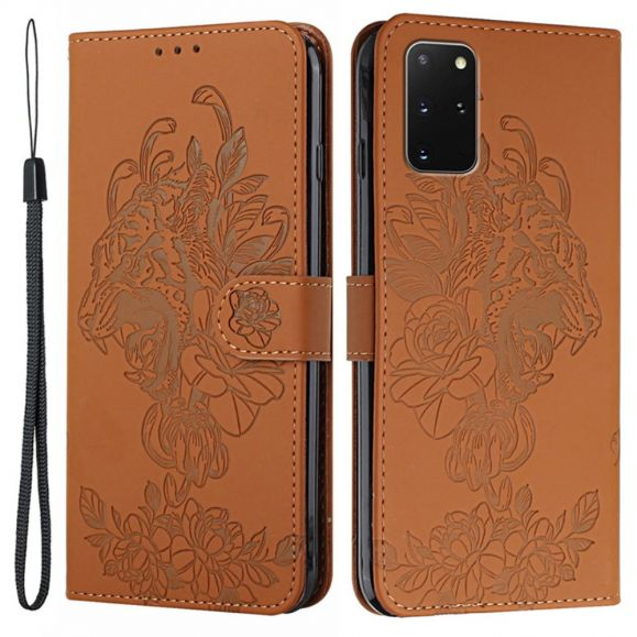 Housse Samsung Galaxy S20 Plus Design Tigre