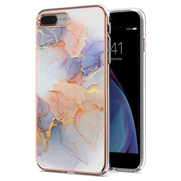 Coque iPhone 8 Plus / 7 Plus marbre coloré