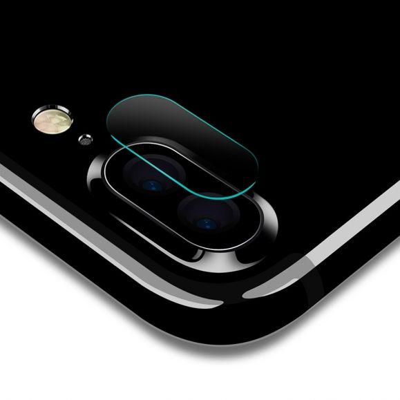 Verre Trempé iPhone 8 Plus / 7 Plus pour lentille (2 pièces)