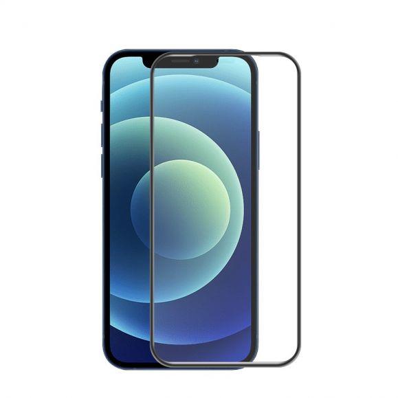 Protection d'écran iPhone 12 mini en verre trempé full size
