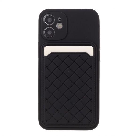 Coque iPhone 12 mini Silicone Porte Carte