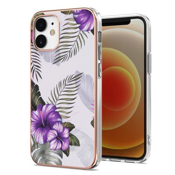 Coque iPhone 12 mini Fleurs Exotiques