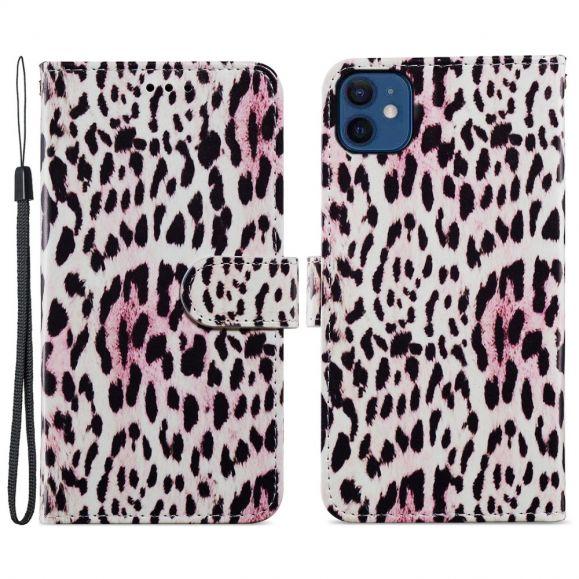 Housse iPhone 12 mini Motif Leopard