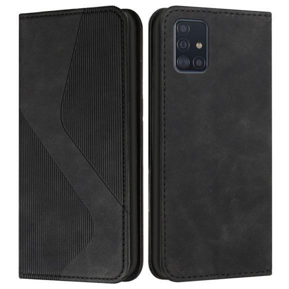 Housse Samsung Galaxy A71 S Shape Business