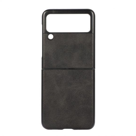 Coque Samsung Galaxy Z Flip 3 5G Jazz simili cuir vintage
