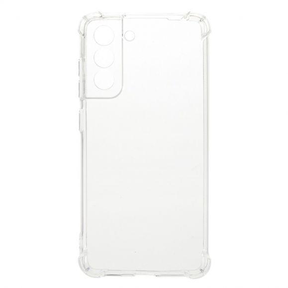 Coque Samsung Galaxy S21 FE transparente angles renforcés
