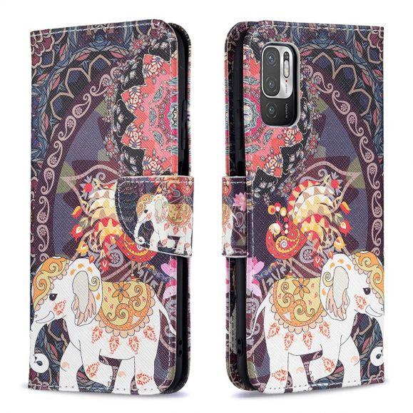 Housse Xiaomi Redmi Note 10 5G / Poco M3 Pro motifs Éléphants