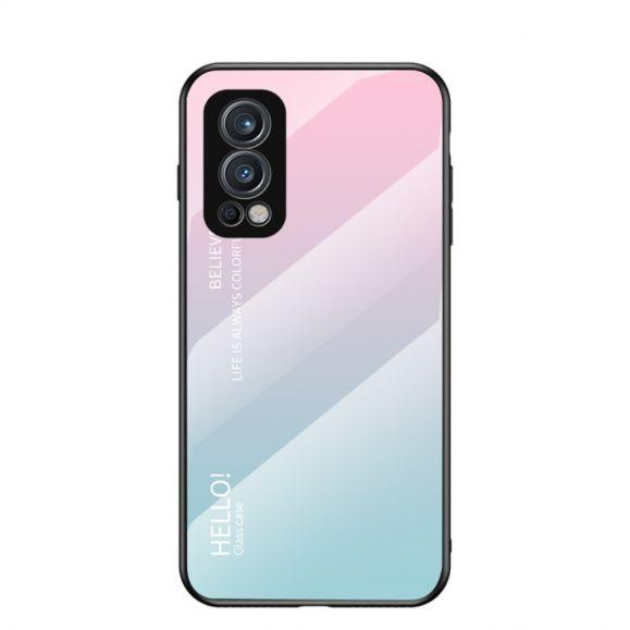 Coque OnePlus Nord 2 5G dégradé de couleurs