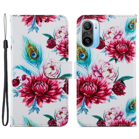 Housse Xiaomi Mi 11i 5G / Poco F3 Paon fleur