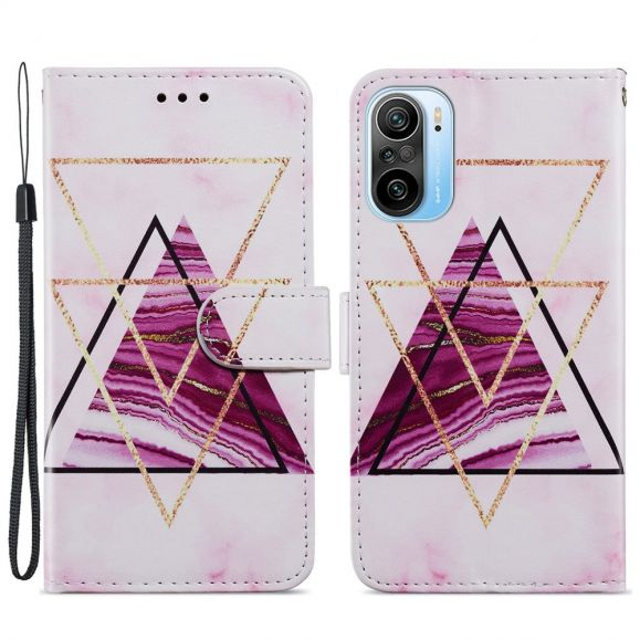 Housse Xiaomi Mi 11i 5G / Poco F3 Design Triangles