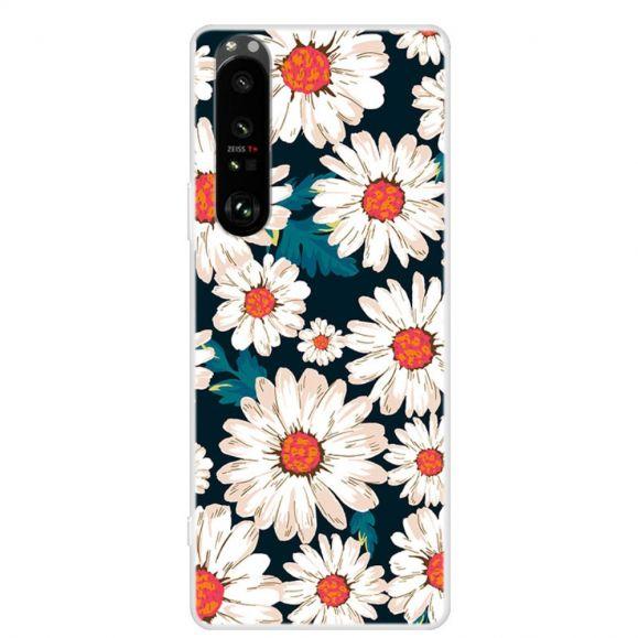Coque Sony Xperia 1 III Marguerites