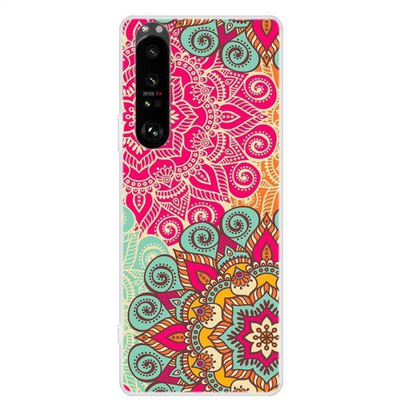 Coque Sony Xperia 1 III Mandalas Colorés