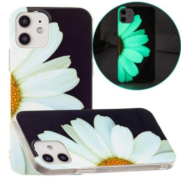 Coque iPhone 12 / 12 Pro Fluorescente Marguerite