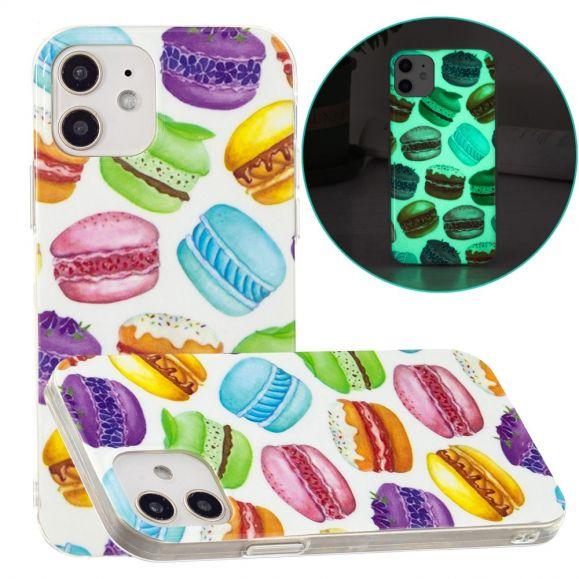 Coque iPhone 12 / 12 Pro Fluorescente Macarons